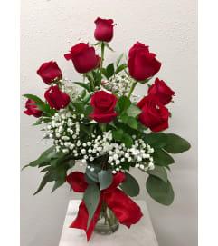 Classic Valentine's Roses