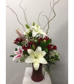 I Lily Love You Vase