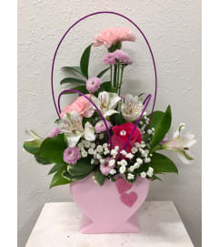 Sweet Thoughts Heart Bouquet