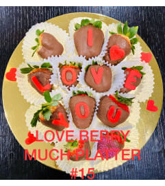 12Ct LOVE BERRY MUCH PLATTER