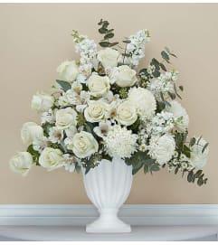 Gracious Pedestal- White