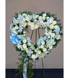 Beautiful in Blue Wreath
