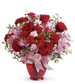 The Valentine Bliss Bouquet