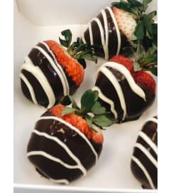 Strawberries au chocolat