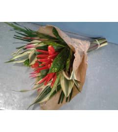 Tropical Bouquet Wrap