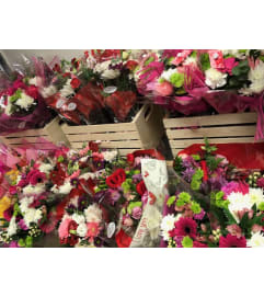 Valentines Special Assorted Bouquets Pick Up Only
