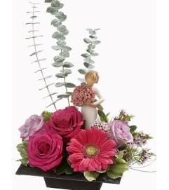 Sympathy Design With Willow Tree Figurine