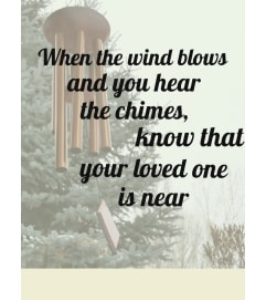 Wind Chime -Listen for the Chimes