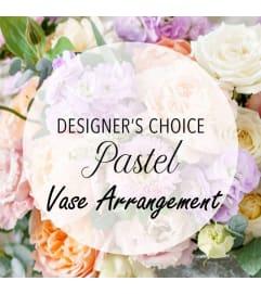 Designer's Choice-Pastel Vase Arrangement