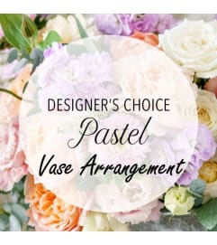 Designer's Choice-Pastel Vase Arrangement