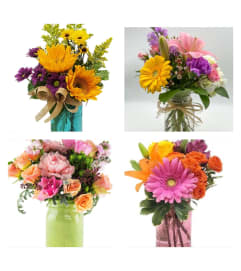 Mason Jar Arrangement-Designer's Choice
