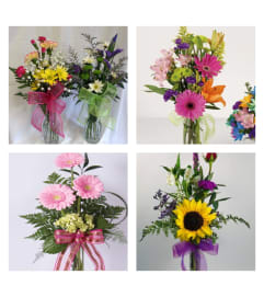 Designer's Choice-Bud Vase Arrangement