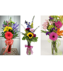 Designer's Choice-Bud Vase Arrangement