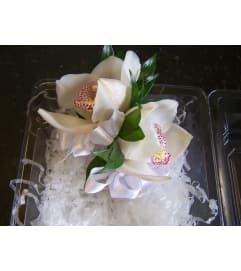 Classic Cymbidium Orchid Corsage