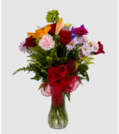 Athena's Custom Floral Piece