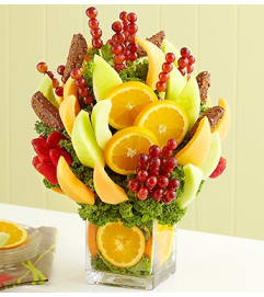 Deepest Condolences Fruit Bouquet