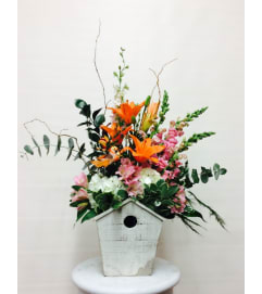 Bird House Delight Bouquet