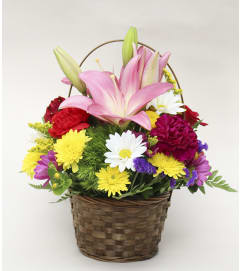 Basket Full of Blooms
