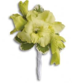 Grand Gladiolus Boutonniere