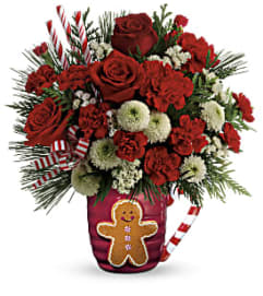 Send A Hug Winter Sips Bouquet by Teleflora