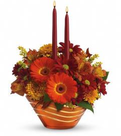 Teleflora's Autumn Artistry Centerpiece