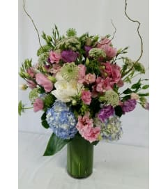 Beautiful Pastel Garden Bouquet