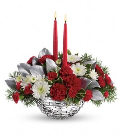 Teleflora's Winter Magic Centerpiece