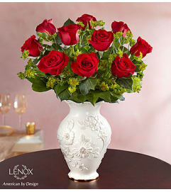 Lovely Roses in Lenox® - Red