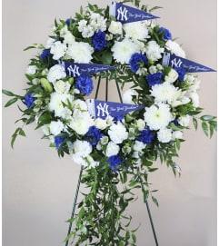 Yankee Funeral Wreathe