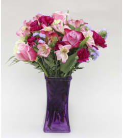Purple Passion Vase