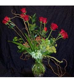 12 roses custom