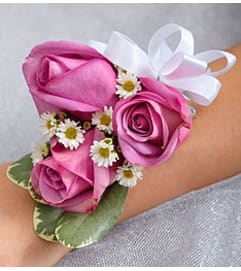 Small Purple Corsage *PICK UP ONLY*