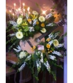 Funeral Custom Guitar Sympathy Piece