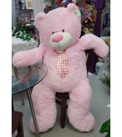 Lovable Jumbo Pink Teddy Bear