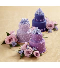 The FTD® Veronica™ Mini Cake Décor