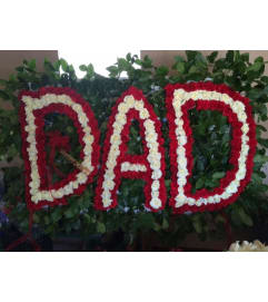 Funeral Custom Dad Sympathy Piece