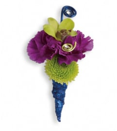 Evening Electric Boutonniere