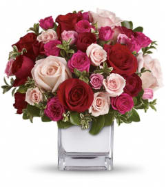 Teleflora's Love Medley Bouquet with Red Roses