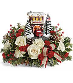 Thomas Kinkade's Hero's Holiday Bouquet