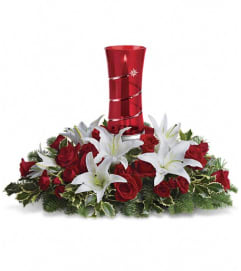 Teleflora's Wondrous Night Centerpiece