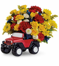Jeep® Wrangler King Of The Road by Teleflora