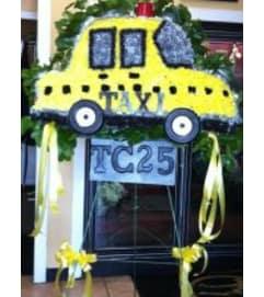 Funeral Custom Taxi Cab Sympathy Piece