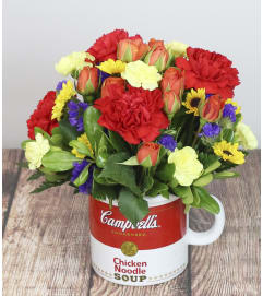 Campbell's Soup Arrangement by Pike Creek