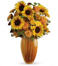 Teleflora's Golden Sunset Bouquet