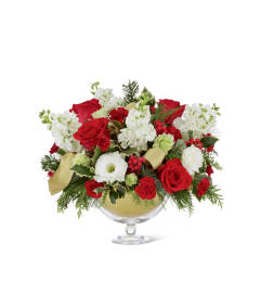 The FTD® Holiday Peace™ Bouquet by Vera Wang 2015