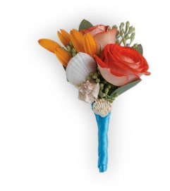 Sunset Magic Boutonniere