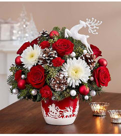 Santa's Sleigh Ride™ Arrangement