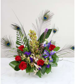 The Peacock Bouquet