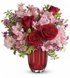Heart's Treasure Bouquet by Teleflora