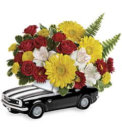 Teleflora's '67 Chevy Camaro Bouquet
